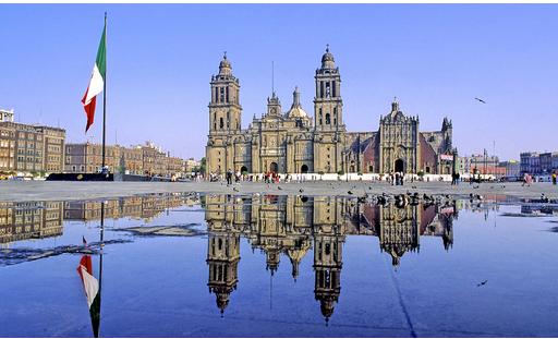 墨西哥景点——墨西哥的宪法广场介绍