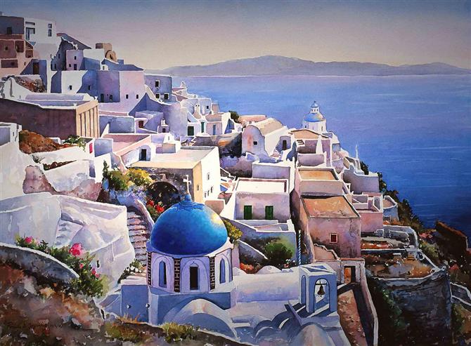 希腊移民实地考察的分享:亲自前往希腊挑选自住房源