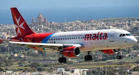 从中国出发的申请者推荐从哪个城市转机?哪些地方可以直飞马耳他?